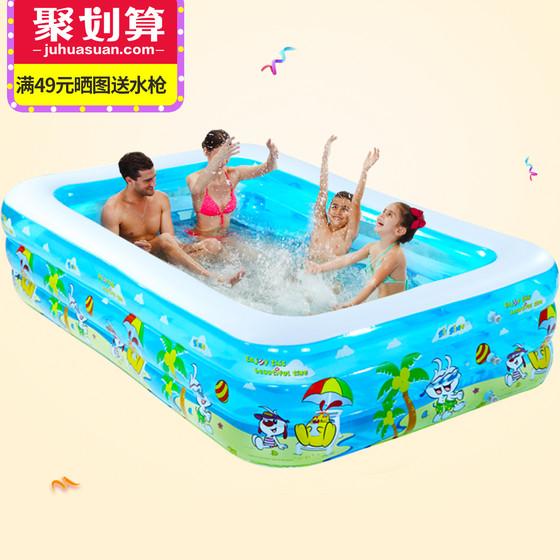 诺澳 儿童加厚充气游泳池