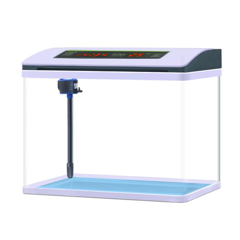 金魚缸客廳小型魚缸創意水族箱玻璃