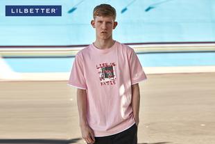 【满198减20】【lilbetter】生活之书短袖T恤