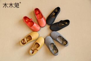 【满129减10】韩版女童皮鞋26-37码