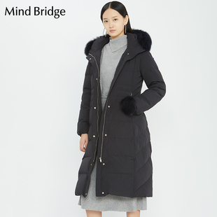 Mind Bridge2018冬装新款羽绒服女