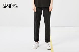 [夏上新]gxgjeans男装夏裤子男青年修身直筒休闲长裤潮 62602248