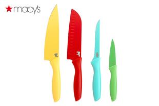 Macy's不锈钢西餐刀具四件套Martha Stewart Collection