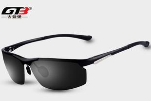 古登堡 高端铝镁偏光太阳镜 优质铝镁材质 经典款型设计 大牌原厂直供