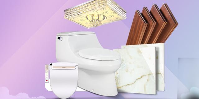 6大品牌精挑细选 源自极品库  科勒卫浴,奥普浴霸,世源照明,大板屋实木地板,圣亚高磁砖